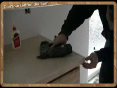 "DIY-""How to Install Cabinets"" Sample 6 of 6 ""Installing Trim"""