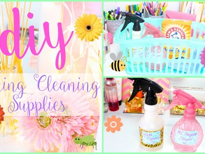 DIY Spring Cleaning Supplies & Tips