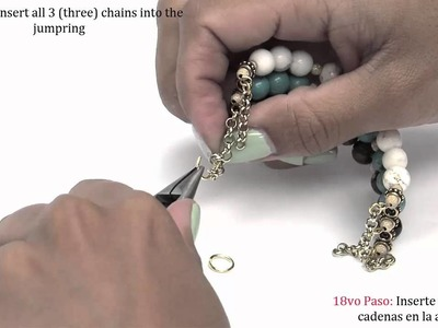 How to make a Multi Strand Memory Wire Bracelet