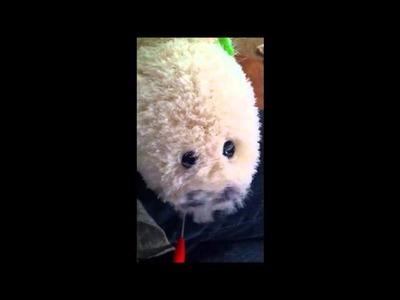 Meet Little Harpo - The Loom Knitting Harp Seal Pup