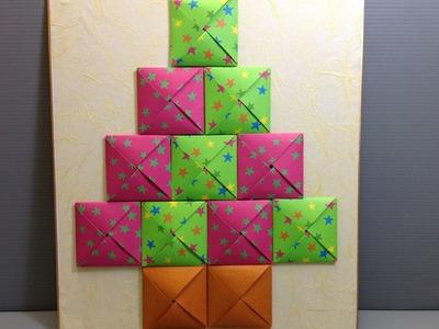 Origami Christmas Advent Calendar - Make Your Own