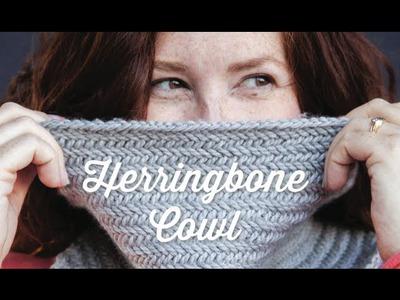 1 Hour Project: Herringbone Cowl