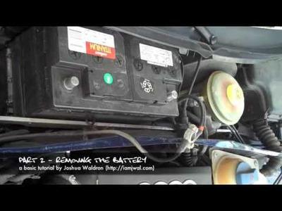 1999 Audi A6 Water Leak DIY Tutorial