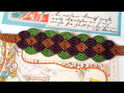 A Colorful Macrame Bracelet - Easy Tutorial [DIY]