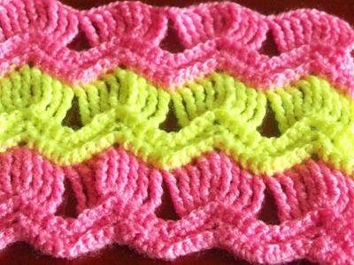 Афганский плед крючком (Afghan blanket crochet)