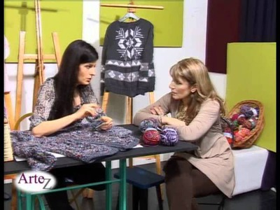 Arte del tejido en crochet (con molde)