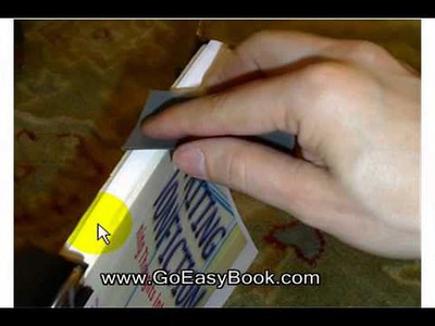 Basic DIY Paperback Book Binding Tutorial