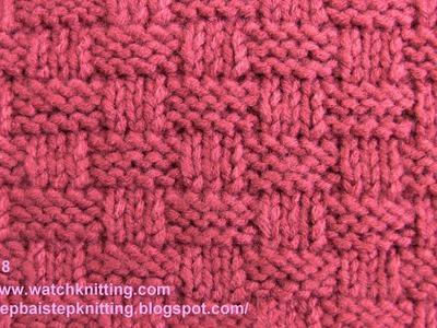 (Basket) - Simple Patterns - Free Knitting Patterns Tutorial - Watch Knitting - pattern 8