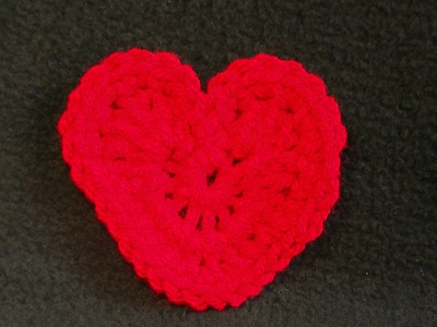 Be My Valentine Heart Crochet Tutorial