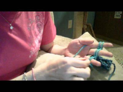 Beginner Finger Knitting Tutorial