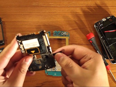 Blackberry Curve 9360 Take Apart DIY Tutorial HD