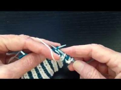 Brioche Stitch in Two Colors