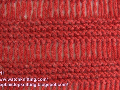 (Cage) - Simple Knitting Patterns - Free Knitting Tutorials - Watch Knitting - pattern 11