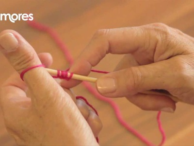 Casting On - Thumb Method - Deramores Knitting Tutorial