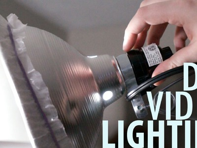 CHEAP.EASY DIY VIDEO LIGHTING TUTORIAL