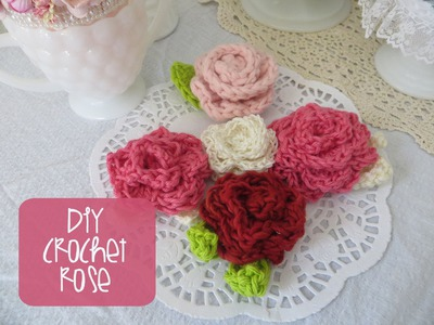 Chic and Cheap: How to Crochet a Rose