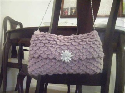 Clutch Crocodile Oversize Crochet Pattern.wmv