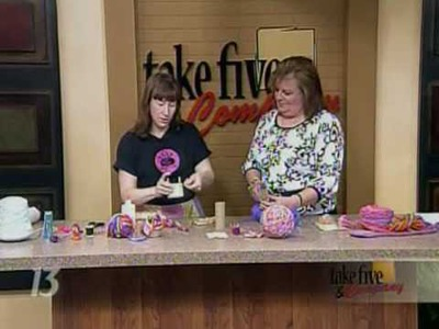 CraftSanity on TV: Spool Knitting For You and The Kids