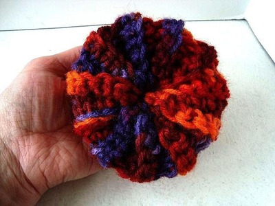 CROCHET A SCRUBBIE FOR KITCHEN OR BATH, how to diy video, easy method