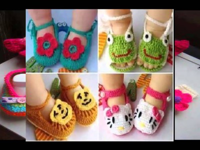 Crochet Baby Booties - Creative Ideas!