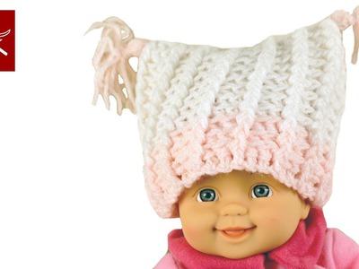 Crochet Baby Hat Tassels - Crochet Geek