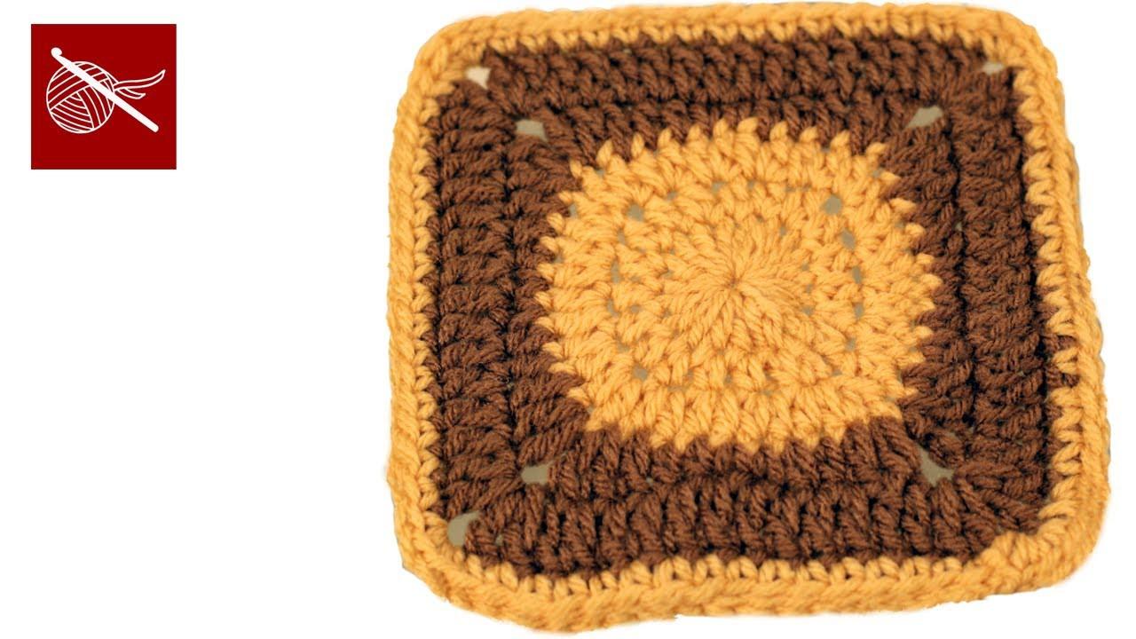 Crochet Circle to Square - Granny Square Afghan Crochet Geek