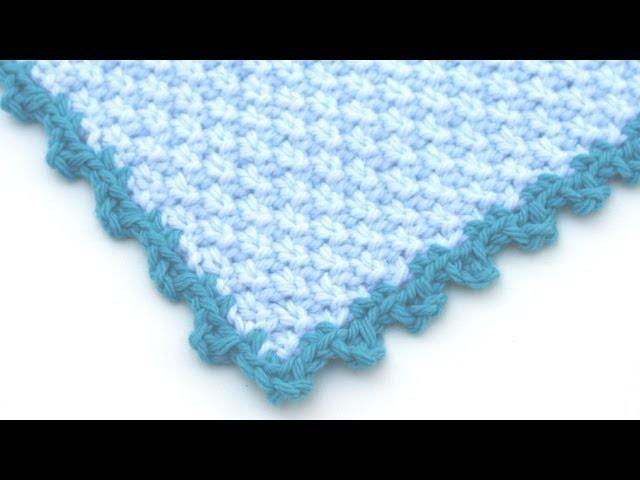 Crochet for Knitters -  Picot Edging