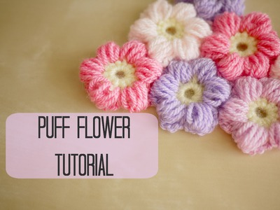 CROCHET: How to crochet a puff flower | Bella Coco