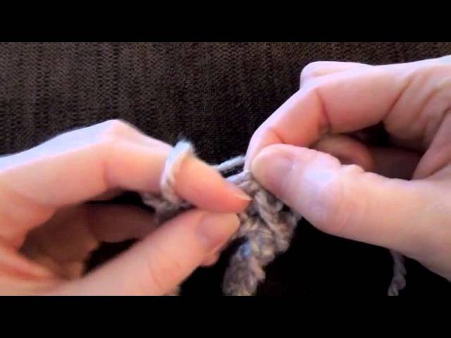 (Crochet) How To - Finger Crochet