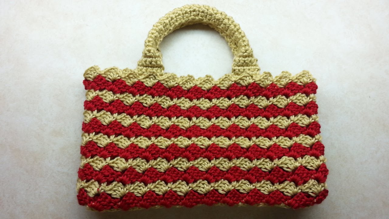 #Crochet Look A-Like #PRADA BAG #Handbag #TUTORIAL #DIY