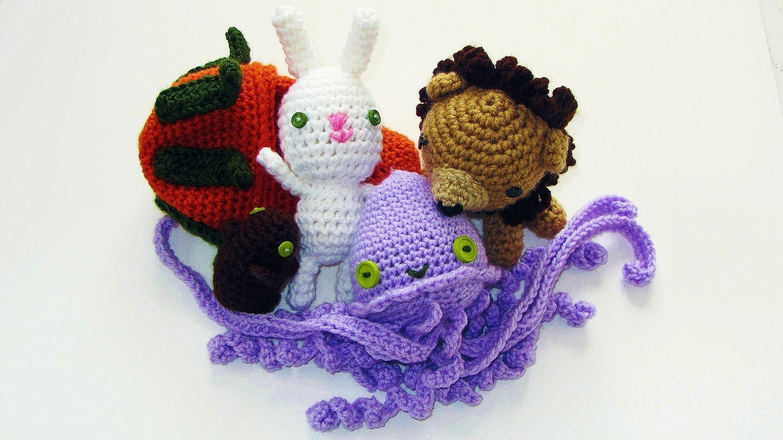 Crochet (not Rainbow Loom) Animals Review (Easter Bunny & More)
