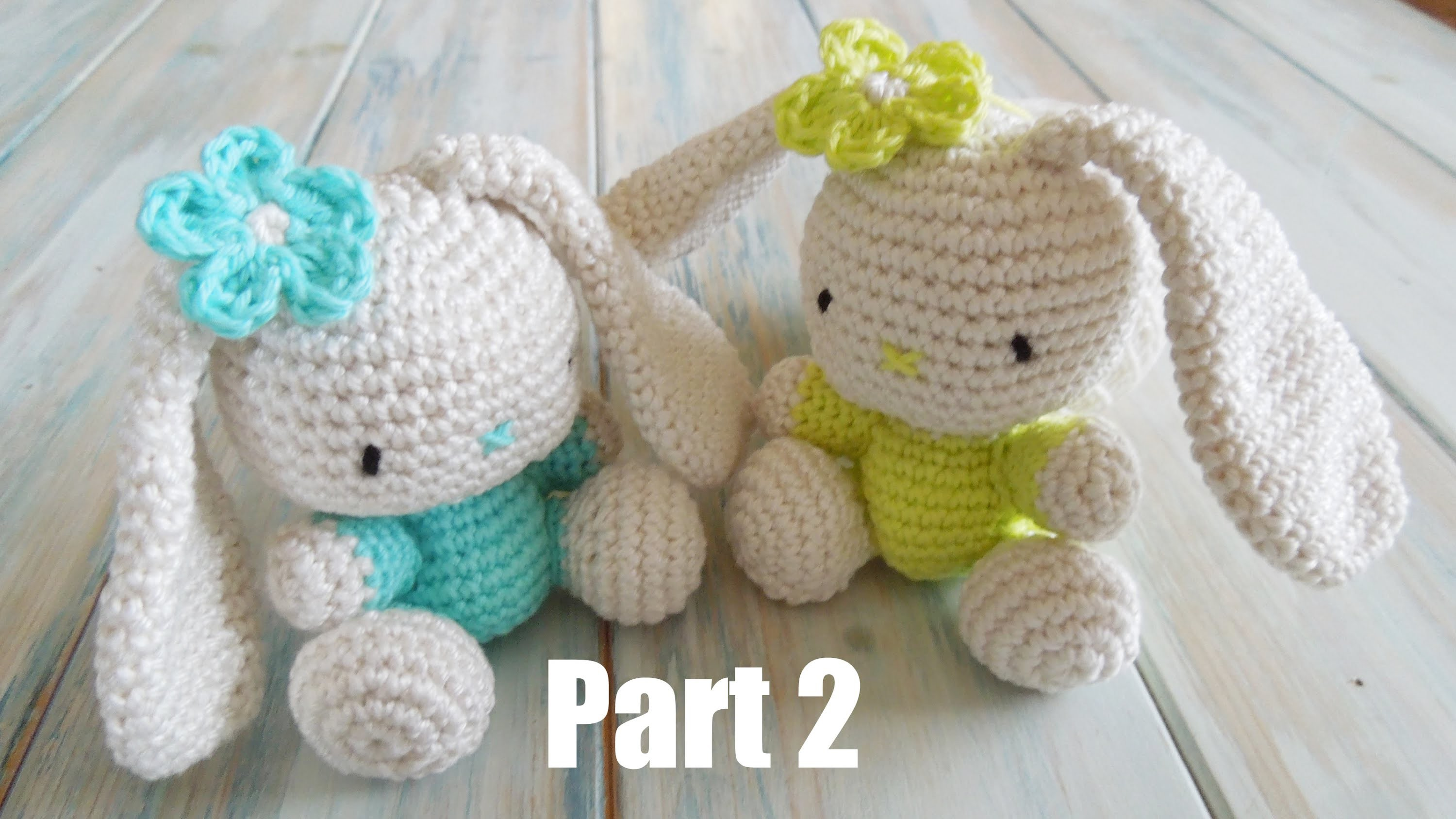 (crochet) Pt2: How To Crochet an Amigurumi Rabbit - Yarn Scrap Friday