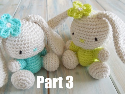 (crochet) Pt3: How To Crochet an Amigurumi Rabbit - Yarn Scrap Friday