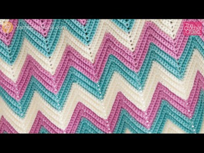 Crochet Secrets: Make Any Size Ripple, Chevron or Zig Zag Afghan