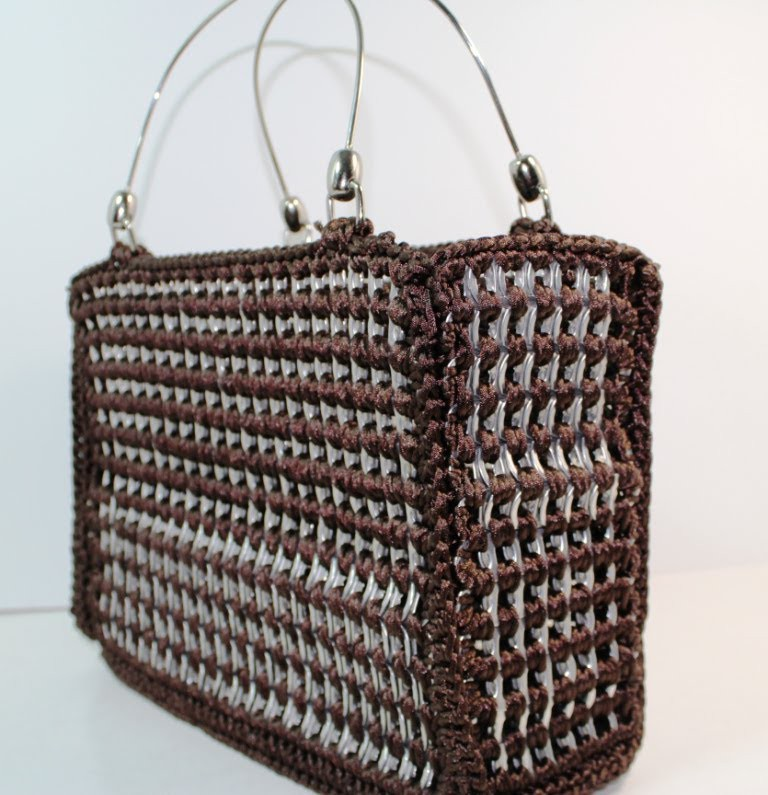 #Crochet Soda Tab Purse (Video One) Subtitulos en Espanol