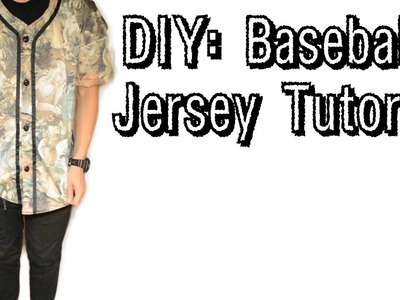 DIY: Baseball Jersey Tutorial