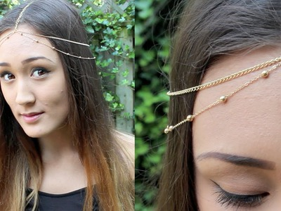 DIY: Chain Head Piece (Headchain)