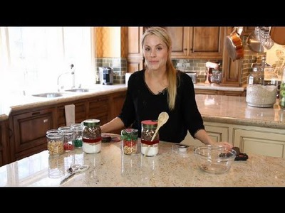 DIY Christmas Goody Jars : Crafting Ideas