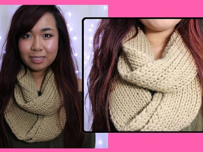 DIY: Easy Scarf Knitting Tutorial for Beginners