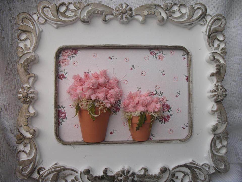 DIY: Flowers Craft fabric, Flores de tecido feitos nozinhos.