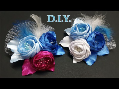 ❄ ❄ ❄ D.I.Y. Frozen Themed Bridal Flower ❄ ❄ ❄