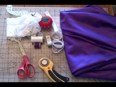 DIY Garter Tutorial - Whitney Sews