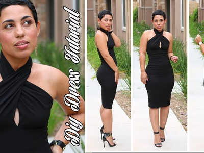 DIY Little Black Dress Tutorial!