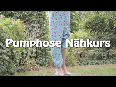 DIY | Pumphose nähen für Erwachsene | Nähen für Anfänger | Tutorial