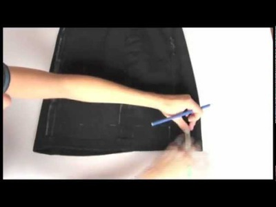 DIY TUTORIAL - how to make your own fringes skirt (fashion video)