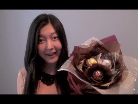 ✄DIY✄ ❤Valentine's Gift Idea❤ Ferrero Rocher Chocolate Flower Bouquet Tutorial + BLOOPERS!