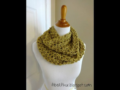 Episode 11: How to Crochet the Gold Leaf Infinity Scarf