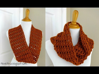Episode 13: How to Crochet the Ginger Snap Infinity Scarf