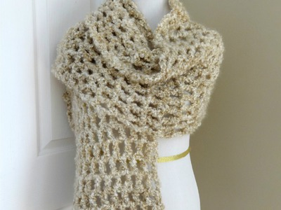 Episode 61: How to Crochet the Vanilla Chai Shawl