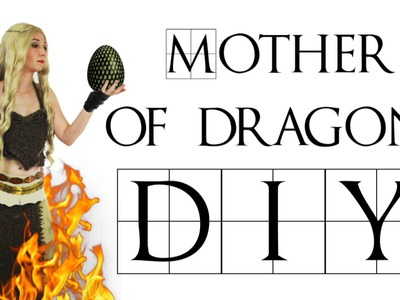 Game of Thrones DIY Khalessi Costume - Daenerys Targaryen - Mother of Dragons